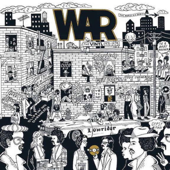 War The Vinyl: 1971-1975 (box set) (coloured) (RSD 2021, Osa 2) LP 2021