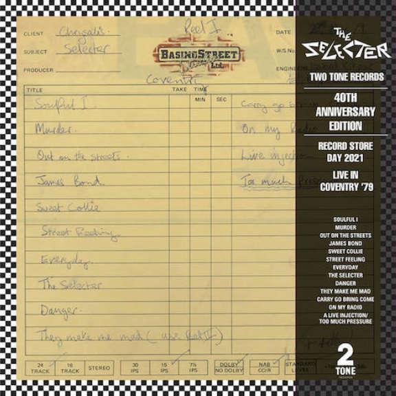 Selecter Live in Coventry 1979 (coloured) (RSD 2021, Osa 2) LP 2021