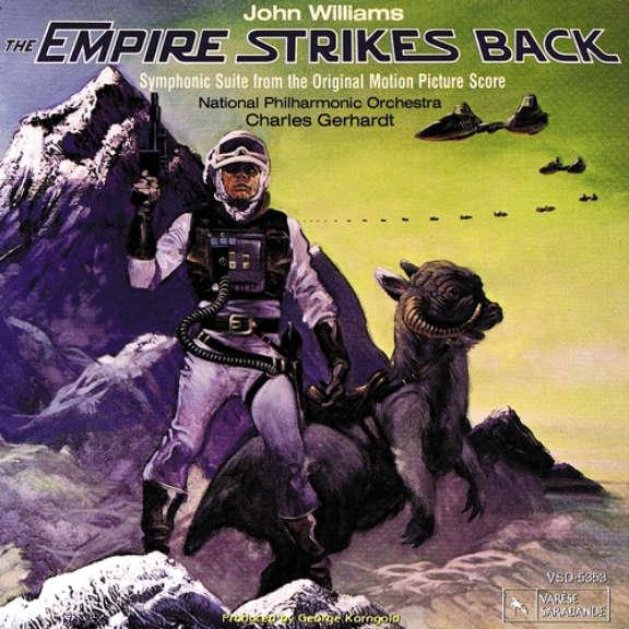John Williams, Charles Gerhardt & National Philharmonic Orchestra Soundtrack : Empire Strikes Back LP 2021