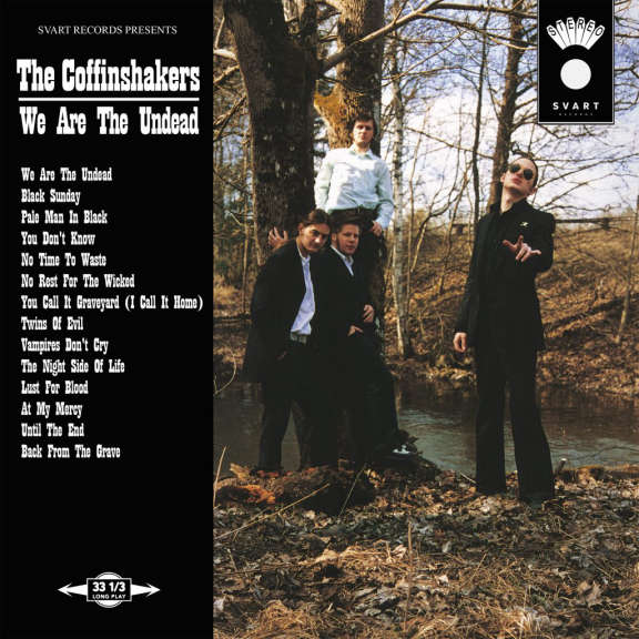The Coffinshakers We Are The Undead LP 2021