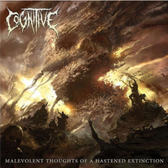Cognitive Malevolent Thoughts of a Hastened Extinction (gold flake) LP 2021
