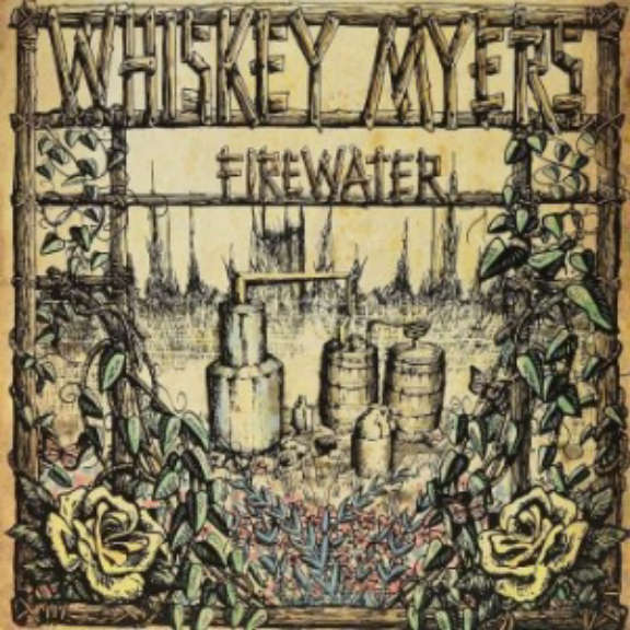 Whiskey Myers Firewater (10th anniversary) (coloured) LP 2021