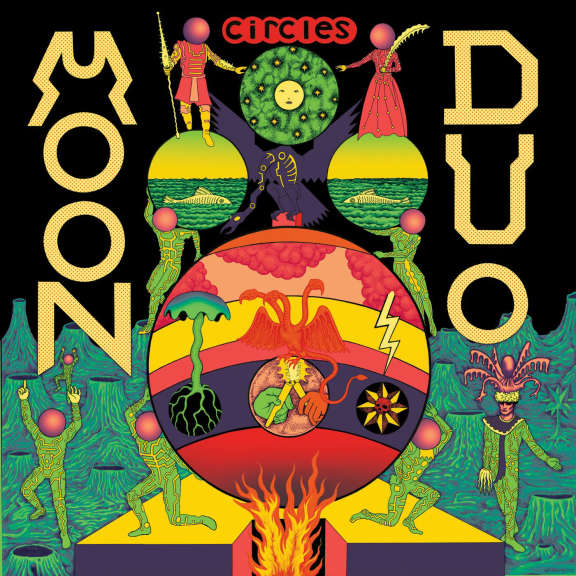 Moon Duo Circles (clear) LP 2021