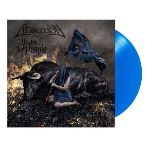 Rebellion We Are The People (blue) LP 2021