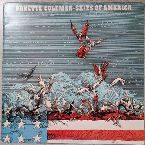 Ornette Coleman & The London Symphony Orchestra Conducted By David Measham Skies Of America LP 0