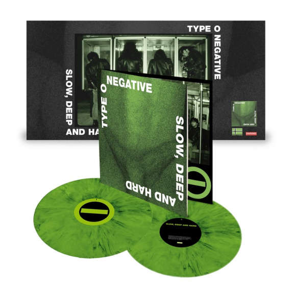 Type O Negative Slow, Deep And Hard (30th anniversary) (coloured) LP 2021