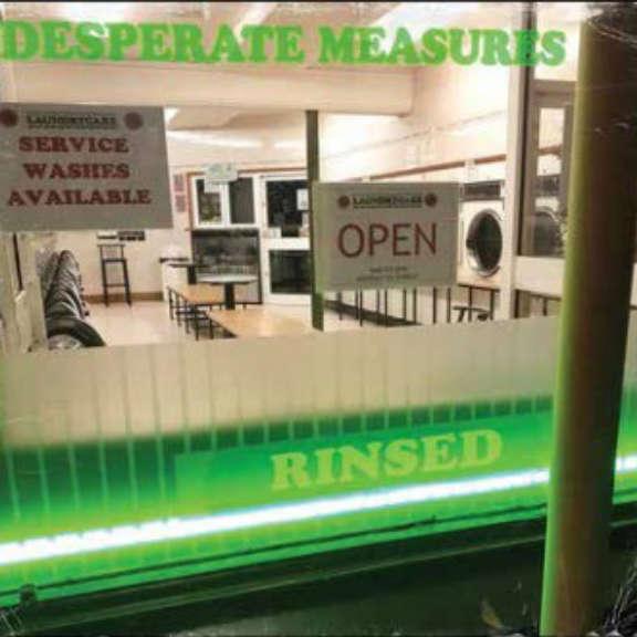 Desperate Measures Rinsed LP 2021