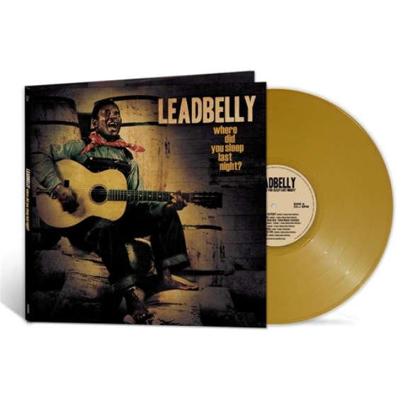Leadbelly Where Did You Sleep Last Night (coloured) LP 2021