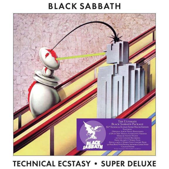Black Sabbath Technical Ecstasy (box set) LP 2021