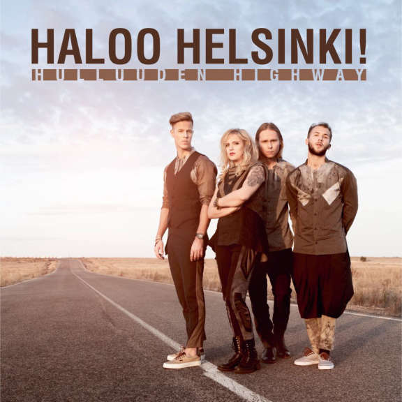 Haloo Helsinki Hulluuden Highway LP 2021