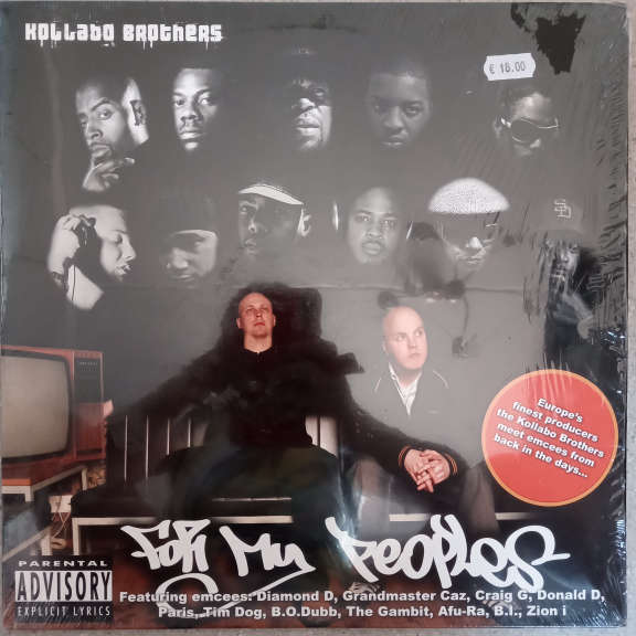 Kollabo Brothers For My Peoples LP 0