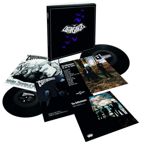 The Coffinshakers The Curse Of The Coffinshakers 1996-2016 (box set) LP 2022