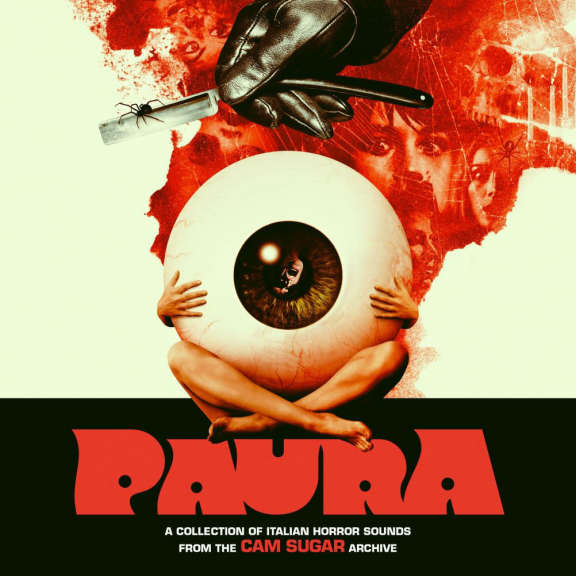 Various Paura - A Collection of Italian Horror Sounds from the CAM SUGAR Archive (black) LP 2021