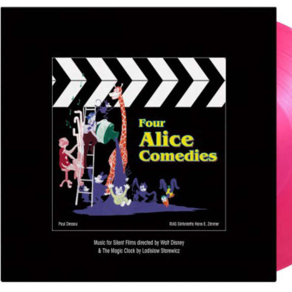 Various Soundtrack : Four Alice Comedies (25th anniversary) (coloured) LP 2021