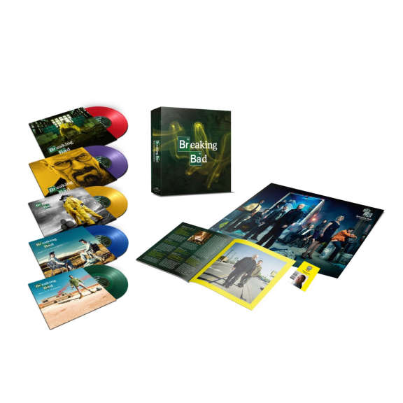Various Soundtrack : Breaking Bad (10th anniversary box set) (coloured) LP 2021