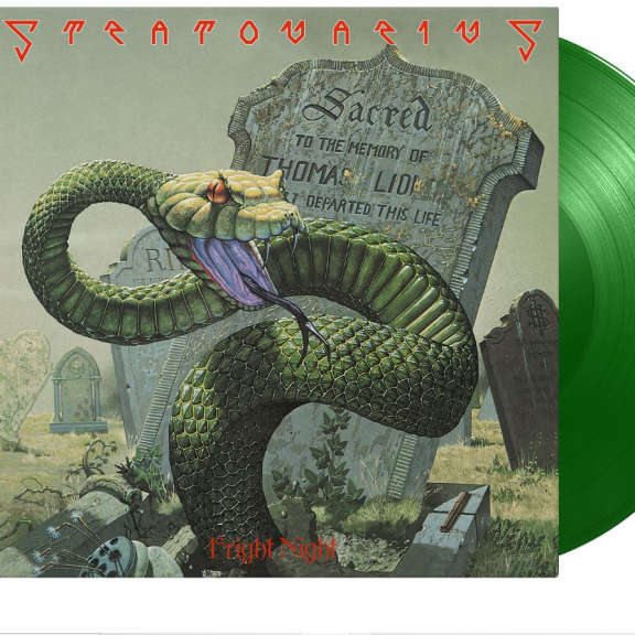 Stratovarius Fright Night (Indie Exclusive/Light Green) LP 2021