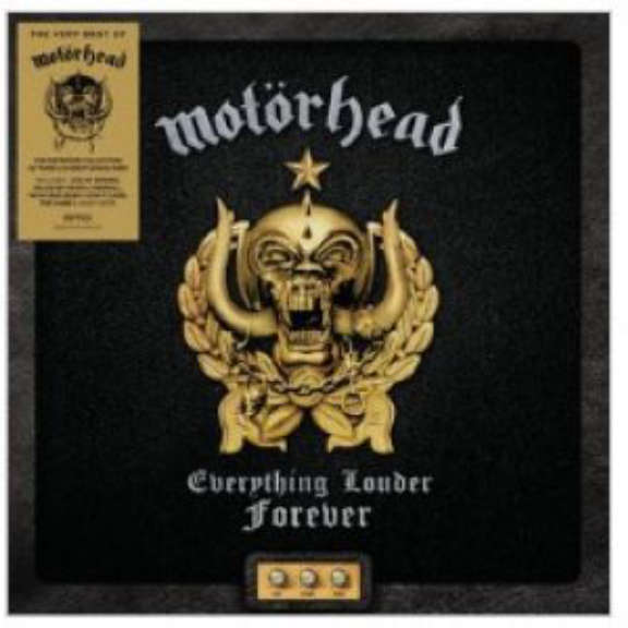Motörhead Everything Louder Forever - The Very Best Of LP 2021
