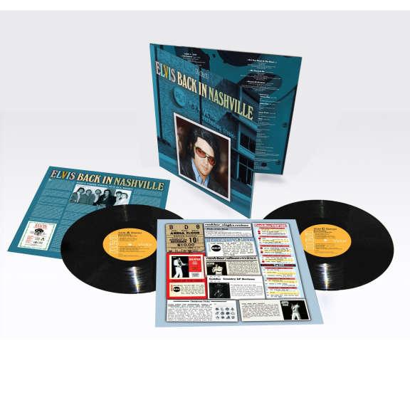 Elvis Presley Back In Nashville LP 2021