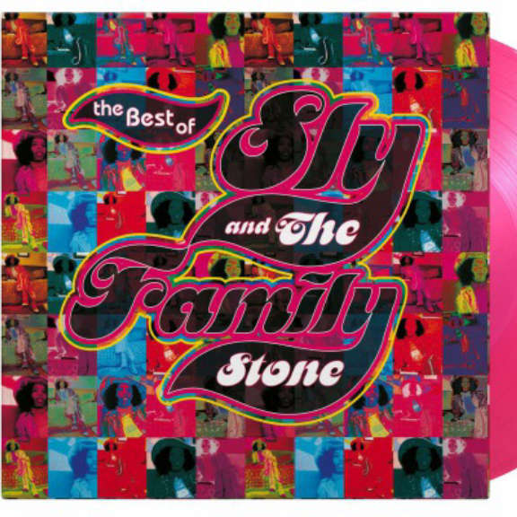 Sly & The Family Stone Best of (coloured) LP 2021