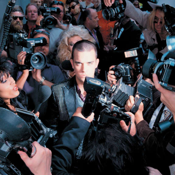 Robbie Williams Life Thru A Lens LP 2021
