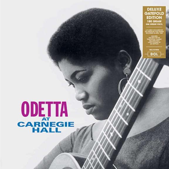 Odetta At Carnegie Hall LP 2013