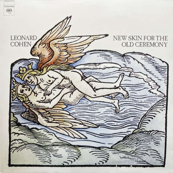 Leonard Cohen New Skin For The Old Ceremony LP null