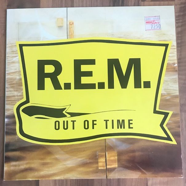 R.E.M. Out Of Time LP undefined