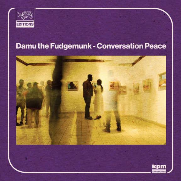Damu the Fudgemunk Conversation Peace (Black) LP 2021
