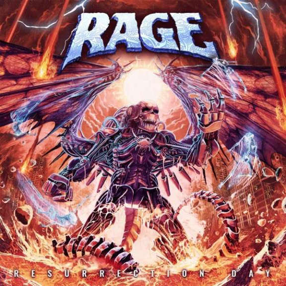 Rage Resurrection Day (coloured) LP 2021