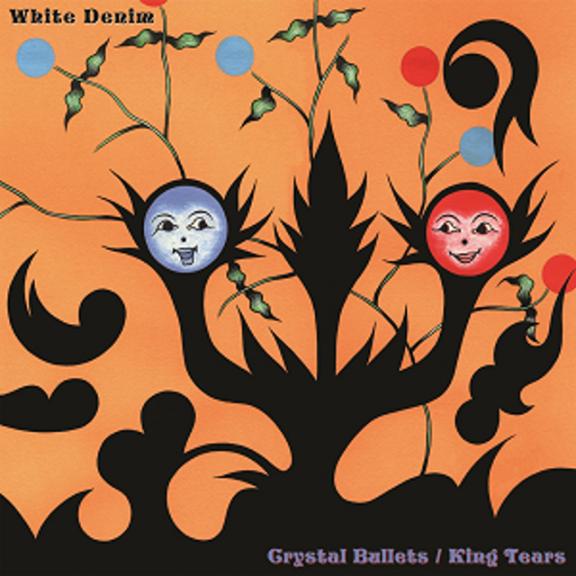 White Denim Crystal Bullets/King Tears (coloured) LP 2021