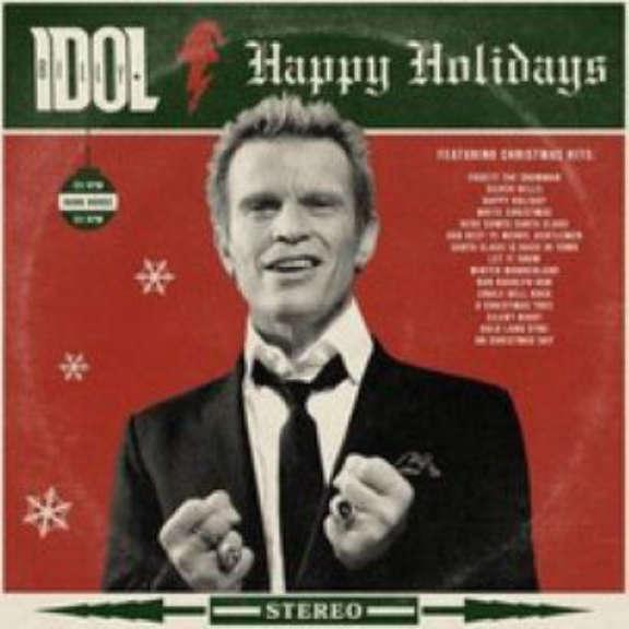 Billy Idol Happy Holidays LP 2021