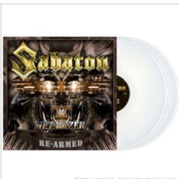 Sabaton Metalizer (Re-Armed) (coloured) LP 2021