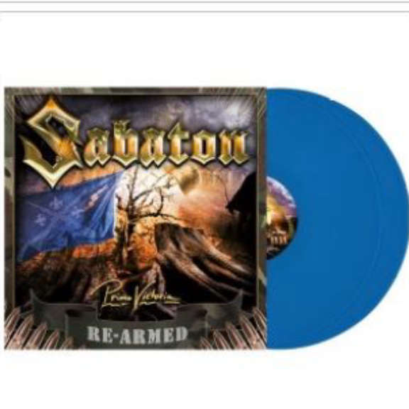 Sabaton Primo Victoria (Re-Armed) (coloured) LP 2021