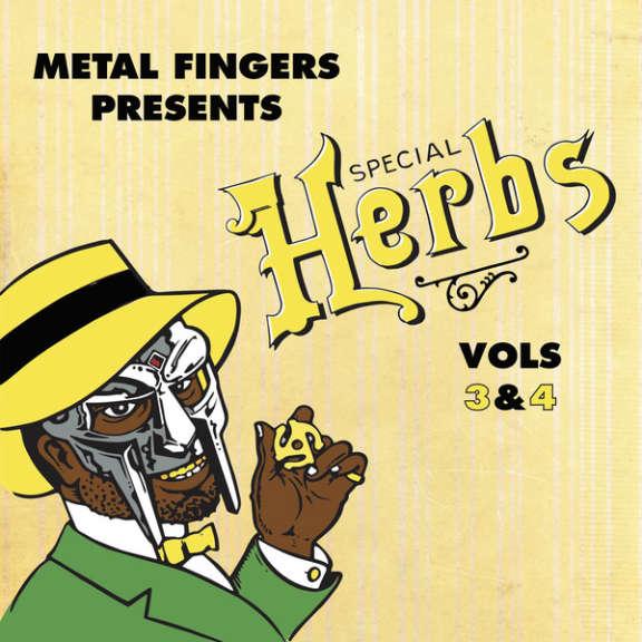 Metal Fingers Special Herbs Vols 3&4 LP null