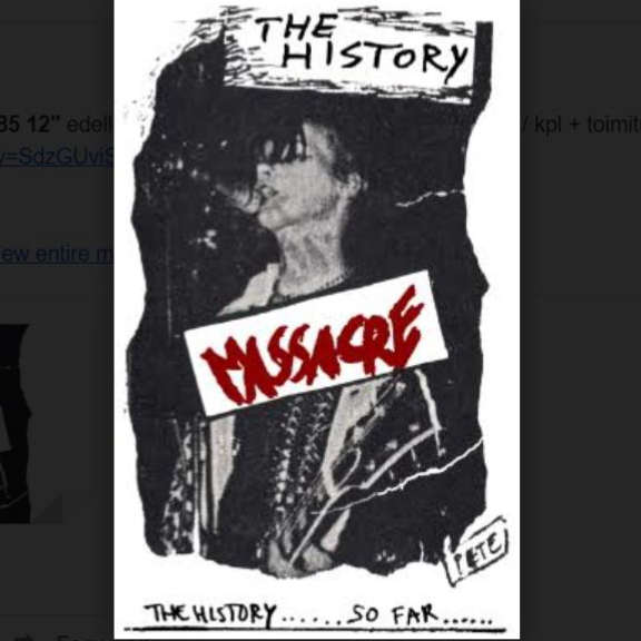 MASSACRE The History... So Far! Kasetti 2021