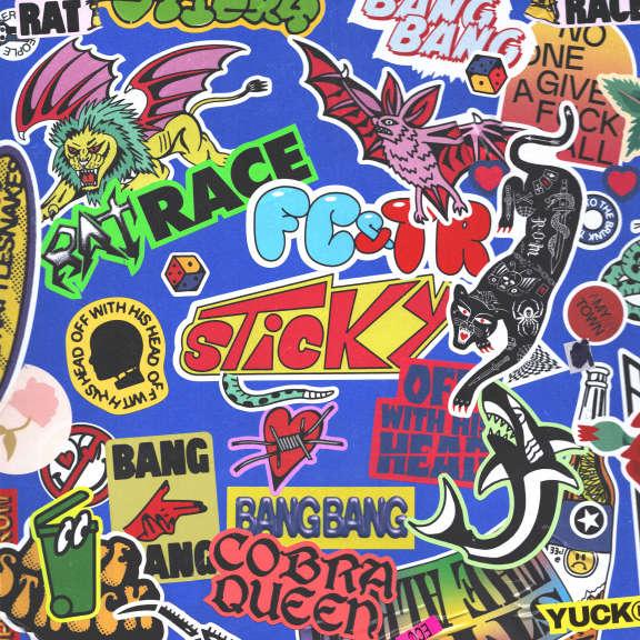Frank Carter & The Rattlesnakes Sticky (coloured) LP 2021