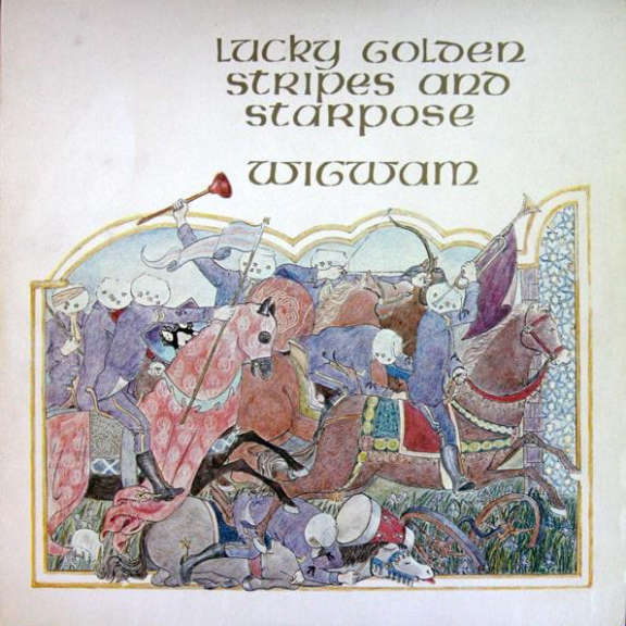Wigwam Lucky Golden Stripes And Starpose (coloured) LP 2021