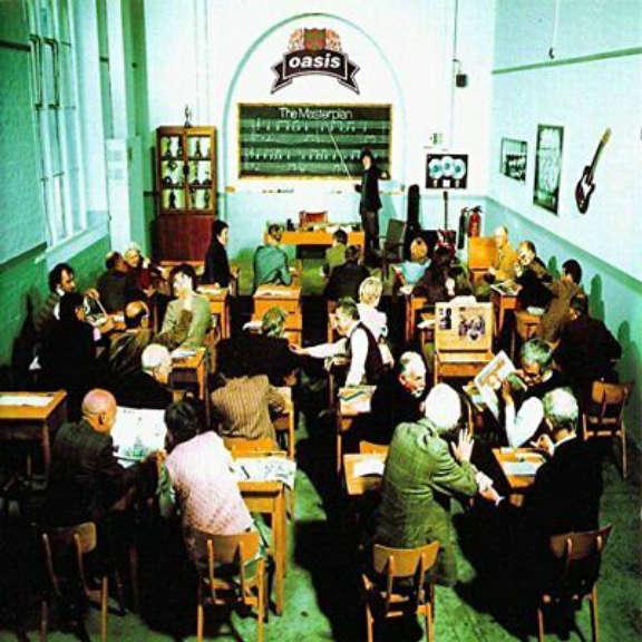 Oasis The Masterplan LP null