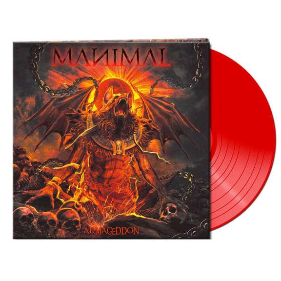Manimal Armageddon (red) LP 2021