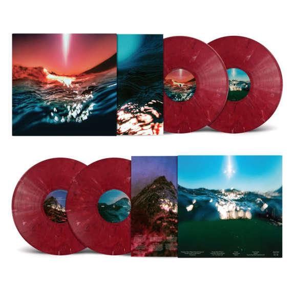 Bonobo Fragments (red) LP 2022
