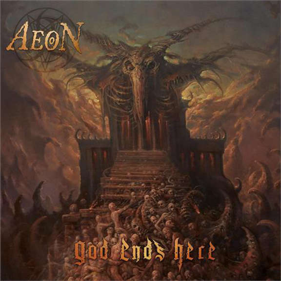 Aeon God Ends Here LP 2021