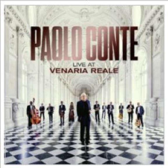 Paolo Conte Live At Venaria Reale LP 2011