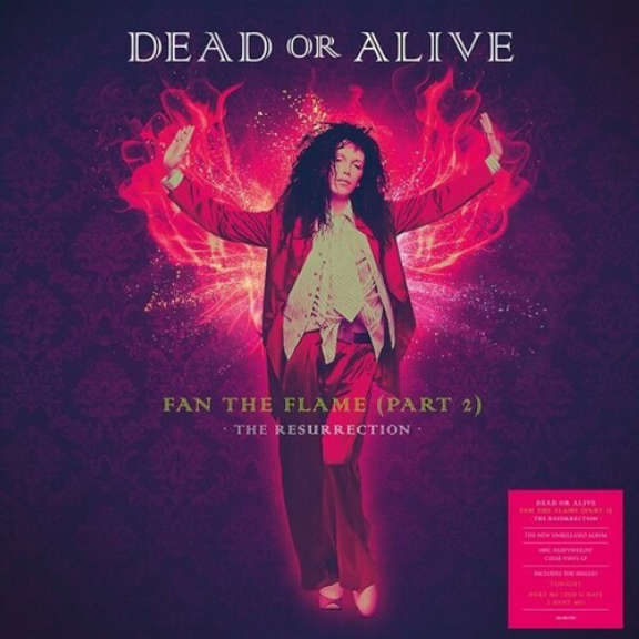 Dead Or Alive Fan The Flame (Part 2) - The Resurrection (clear) LP 2021