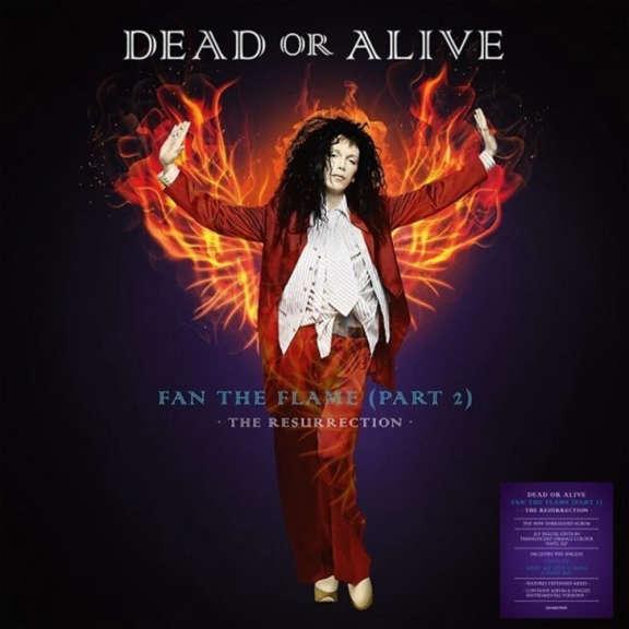 Dead Or Alive Fan The Flame (Part 2) - The Resurrection (orange) LP 2021
