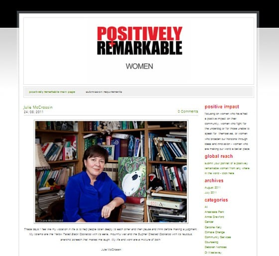 Positively Remarkable Women