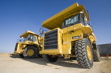 photo of mining industry truck