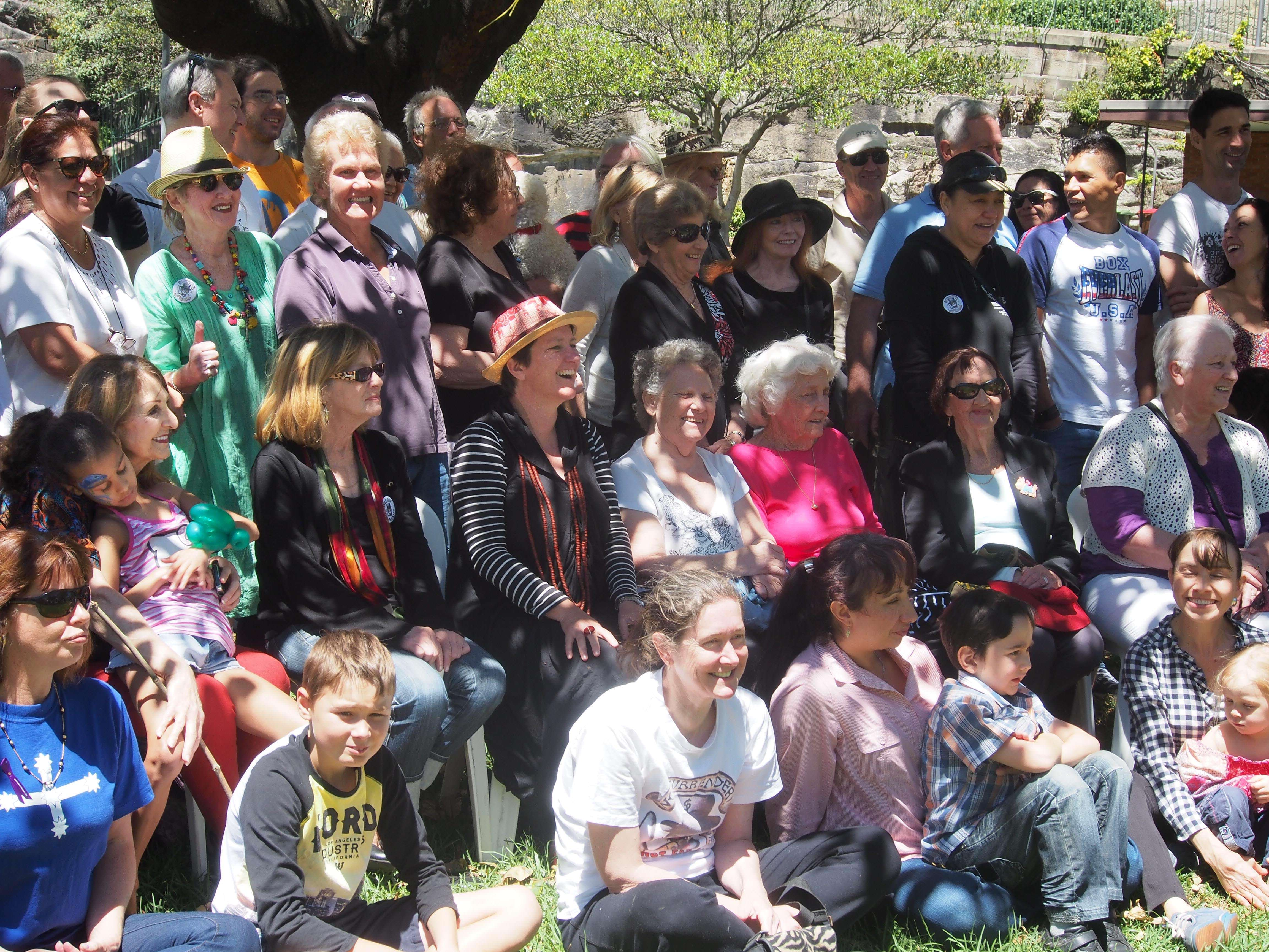 Just some of the Millers Point mothers at our festival last year
