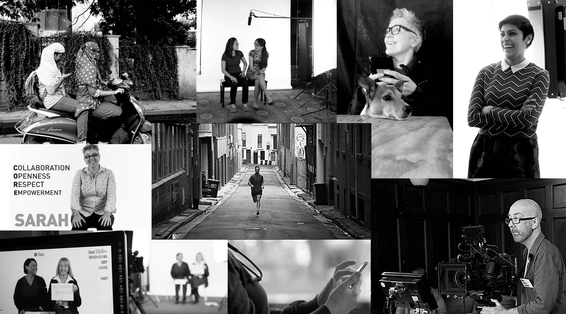 Tell Agency photo collage