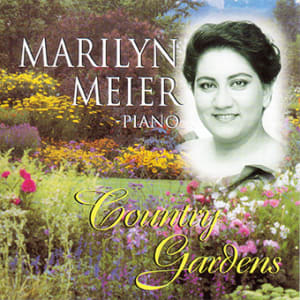 CD cover, Country Gardens