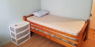 Photo of Girard's room